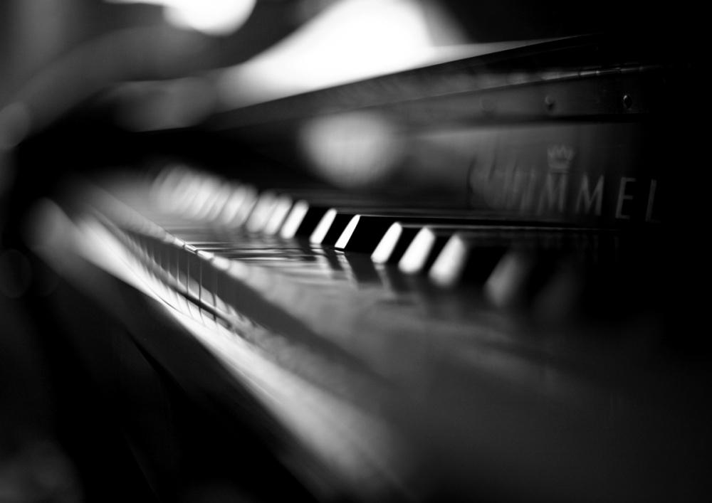 piano noir