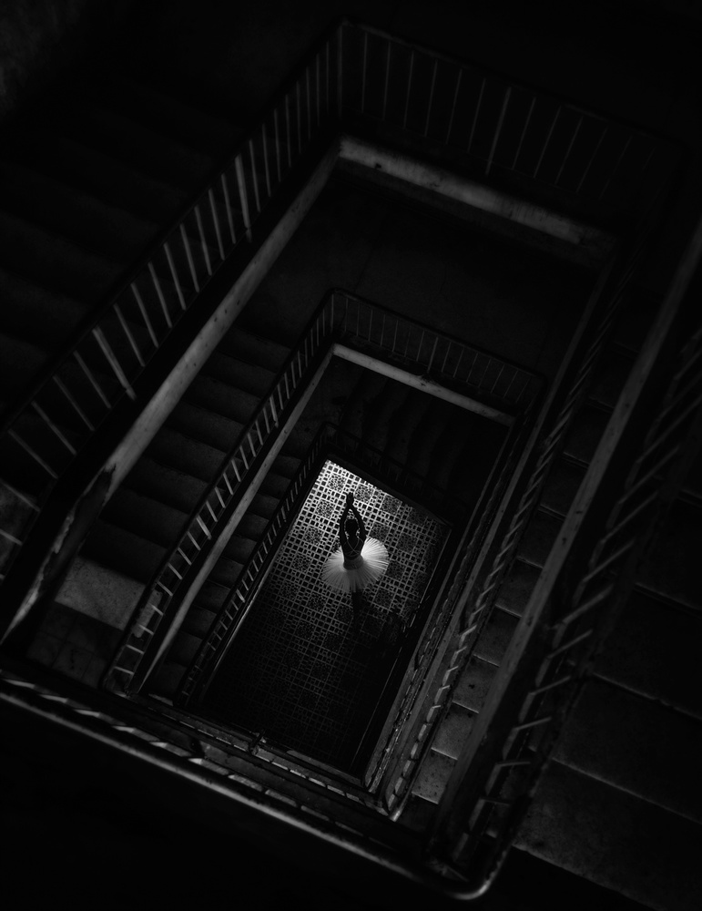 A piece of fine art art photography titled A Way Out by Nguyen Tan Tuan