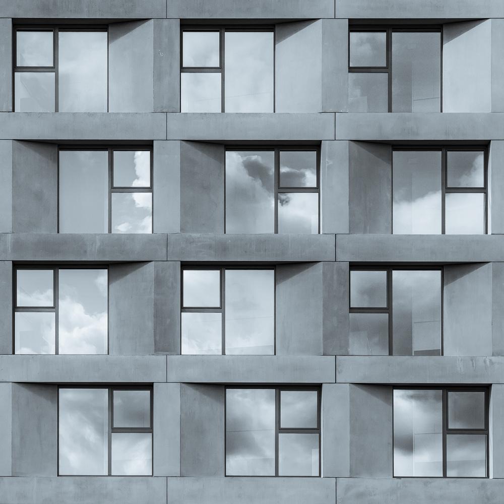 A piece of fine art art photography titled Twelve Student Flats by Luc Vangindertael (laGrange)