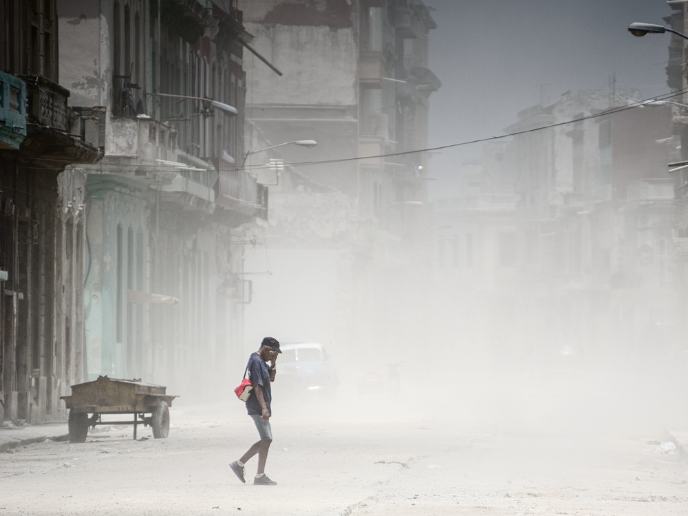 A piece of fine art art photography titled Dust In Havana by Pavol Stranak