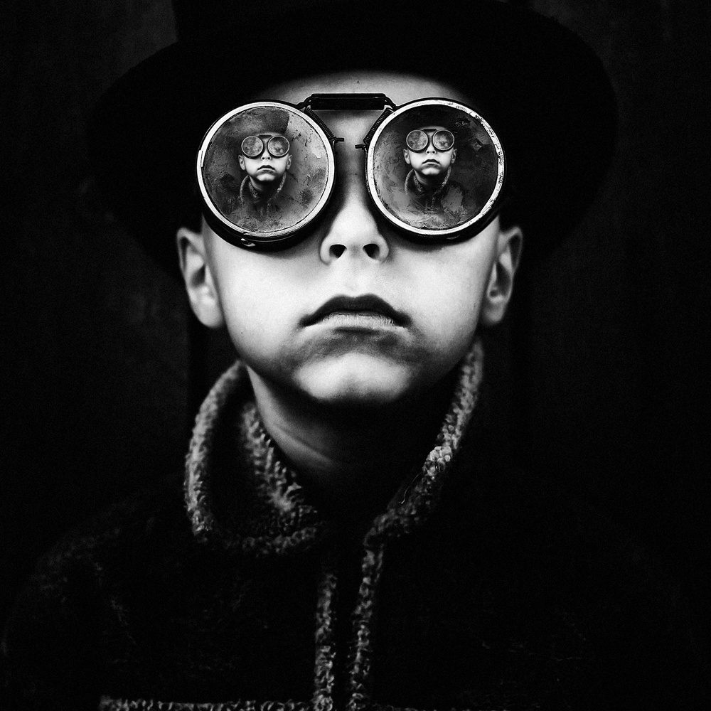 A piece of fine art art photography titled I by amir bajrich