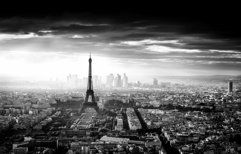 A piece of fine art art photography titled Paris by Jaco Marx