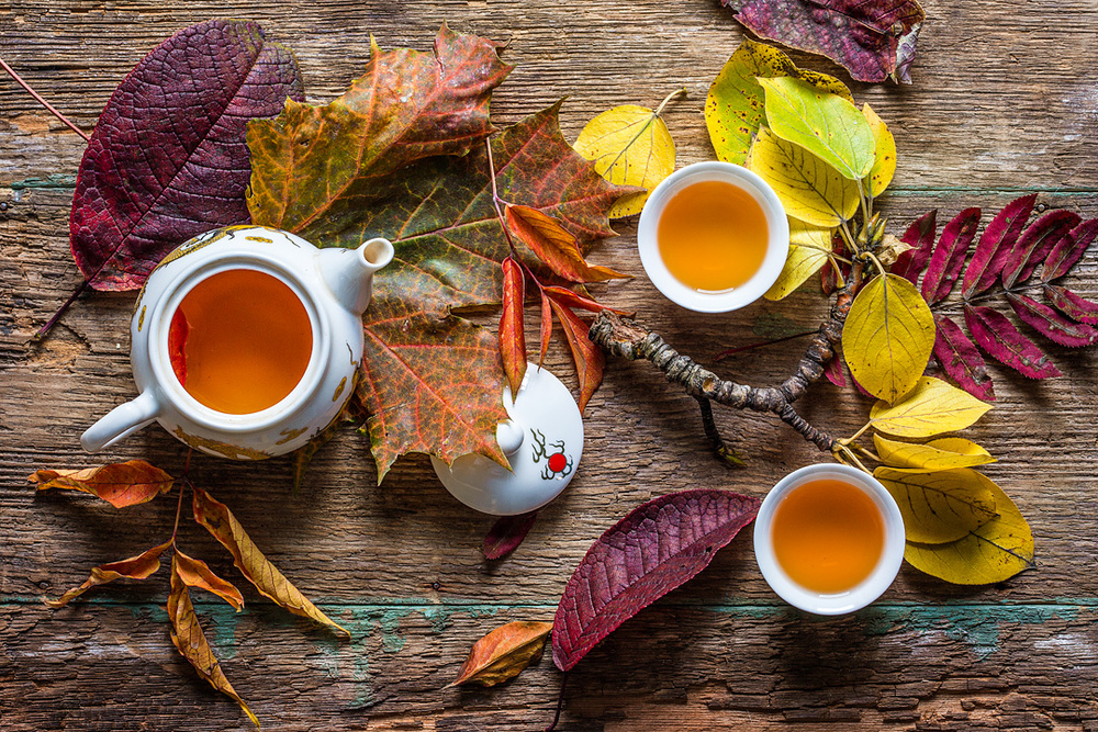 A piece of fine art art photography titled Tea of September by Stanislav Aristov