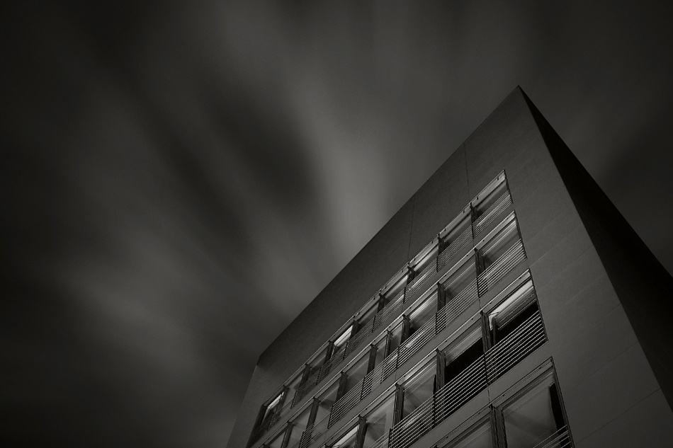 A piece of fine art art photography titled Volkshochschule by Helmut Kaczmarek jr.