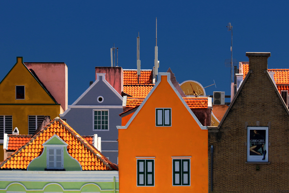 View this piece of fine art photography titled Willemstad by Hans-Wolfgang Hawerkamp