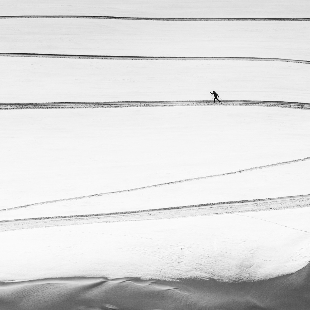 A piece of fine art art photography titled Solitary   by Matej Rumansky