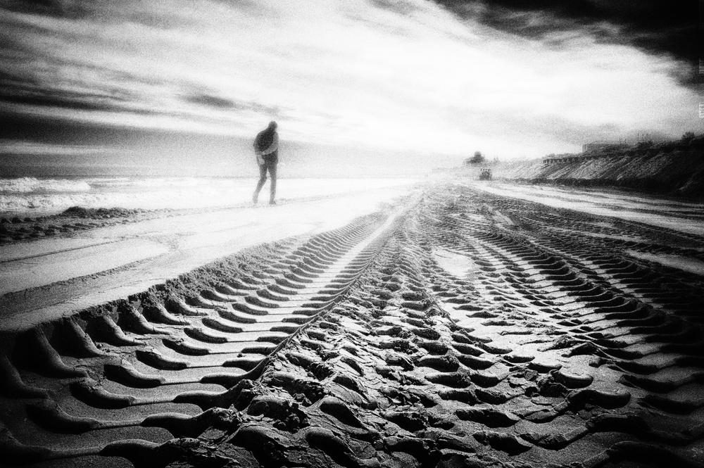 A piece of fine art art photography titled Il Mare D'Inverno by Enrico Facchetti