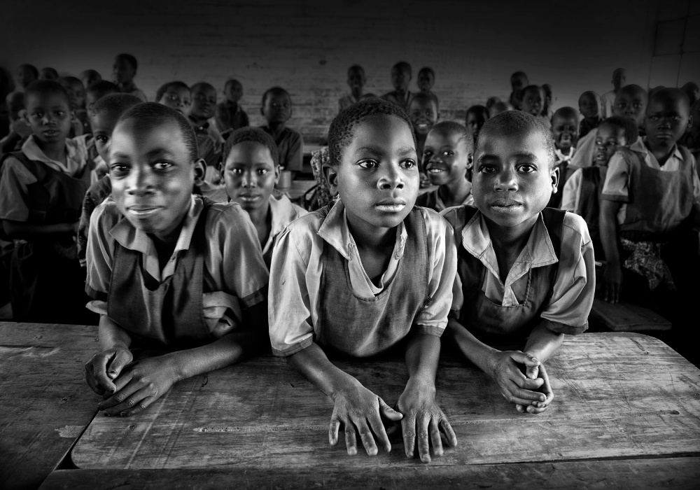 A piece of fine art art photography titled Classroom by Marc Apers