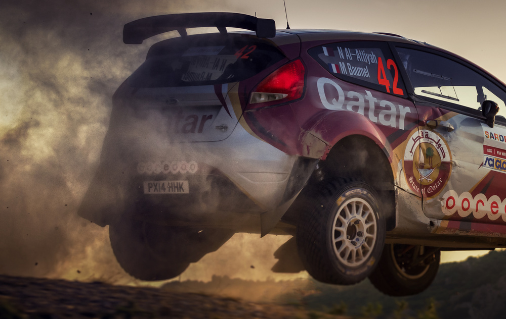 A piece of fine art art photography titled Jump In the Dust by rainer inderst