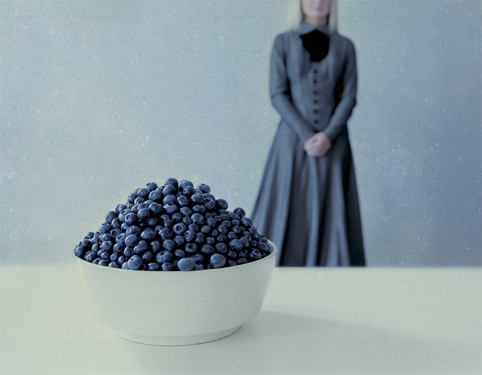 A piece of fine art art photography titled Blueberry Blues by Olga Astratova