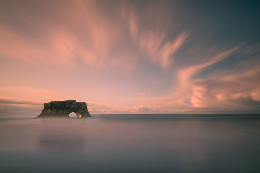 View this piece of fine art photography titled Santa Cruz Sun Rise by Pawel Uchorczak