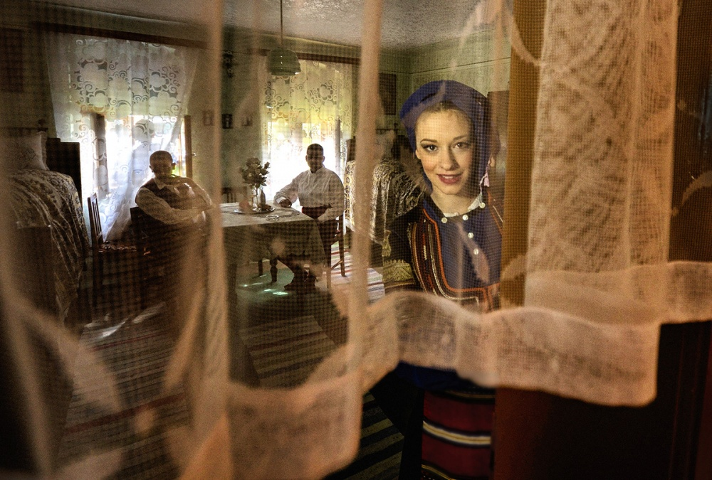 A piece of fine art art photography titled Girl from Ivanovo by Dragan M. Babovic