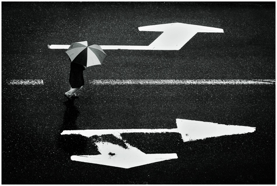 A piece of fine art art photography titled Decisions, Decisions by Ilja Hackman