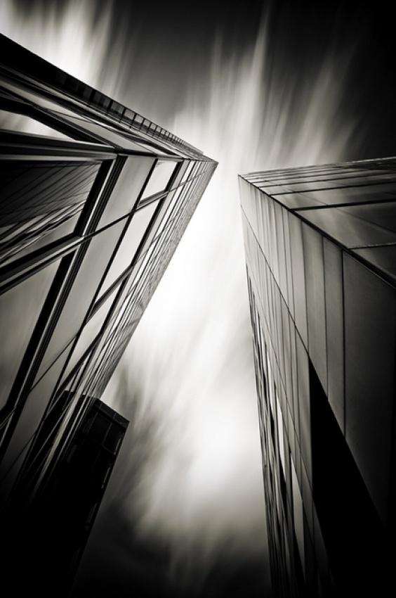 A piece of fine art art photography titled Verticals #12 by Arkadius Zagrabski
