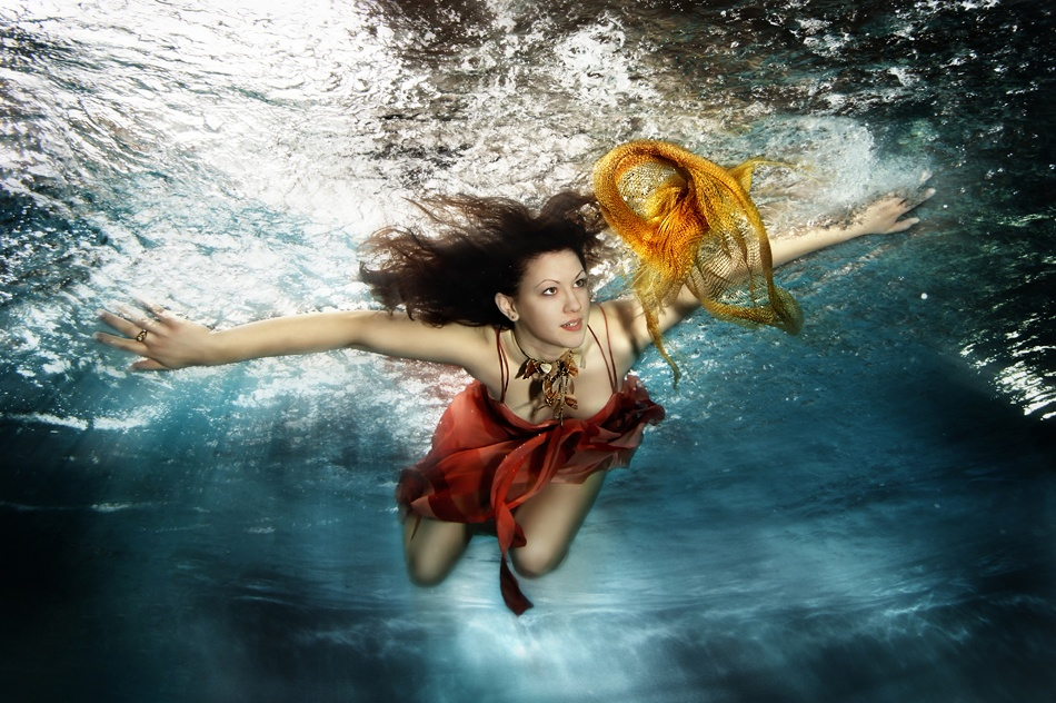 A piece of fine art art photography titled Luzina Ii by Tina Terras