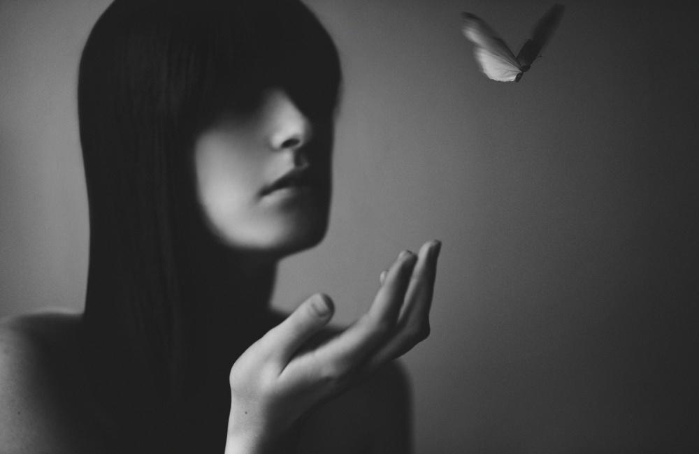 A piece of fine art art photography titled A Kiss to Remember by Victor Ha
