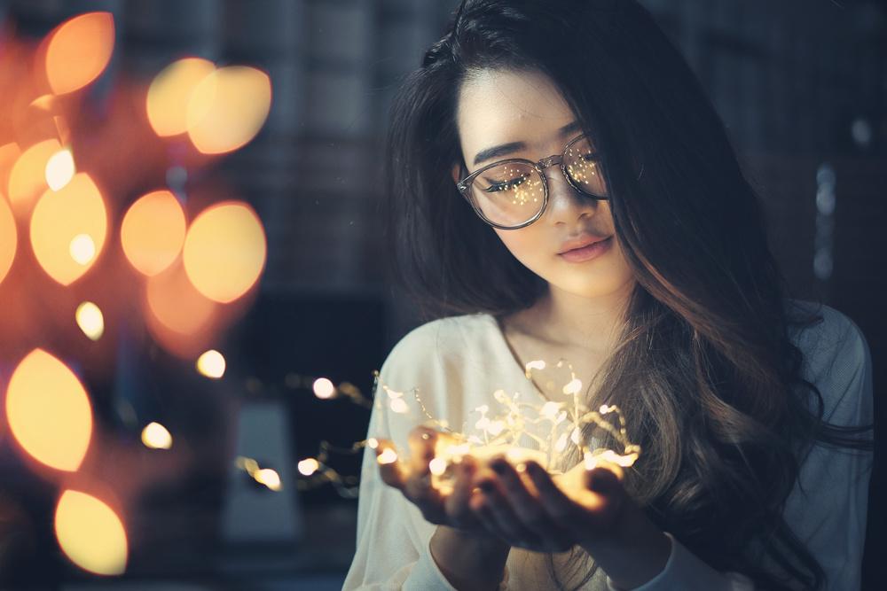 A piece of fine art art photography titled Light of My Love by Ericks