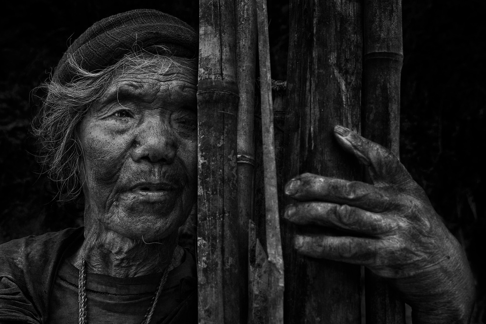 A piece of fine art art photography titled I Am Still Alone by Fadhel Almutaghawi