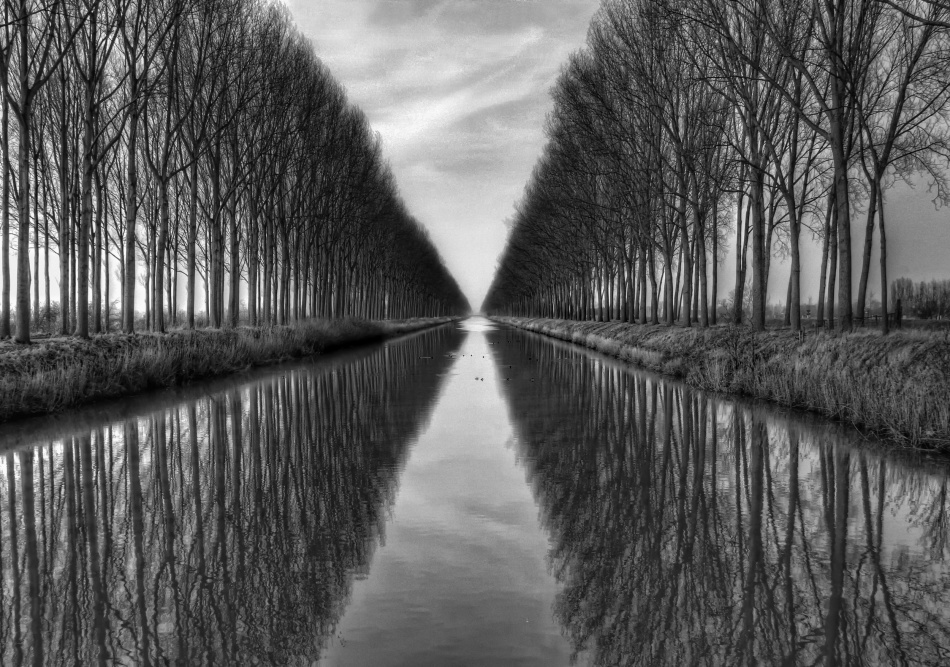 A piece of fine art art photography titled Vanished to the Infinite by Yvette Depaepe