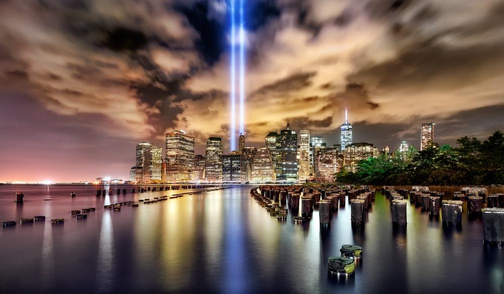 A piece of fine art art photography titled In Memorial September 11 by Jesús M. García
