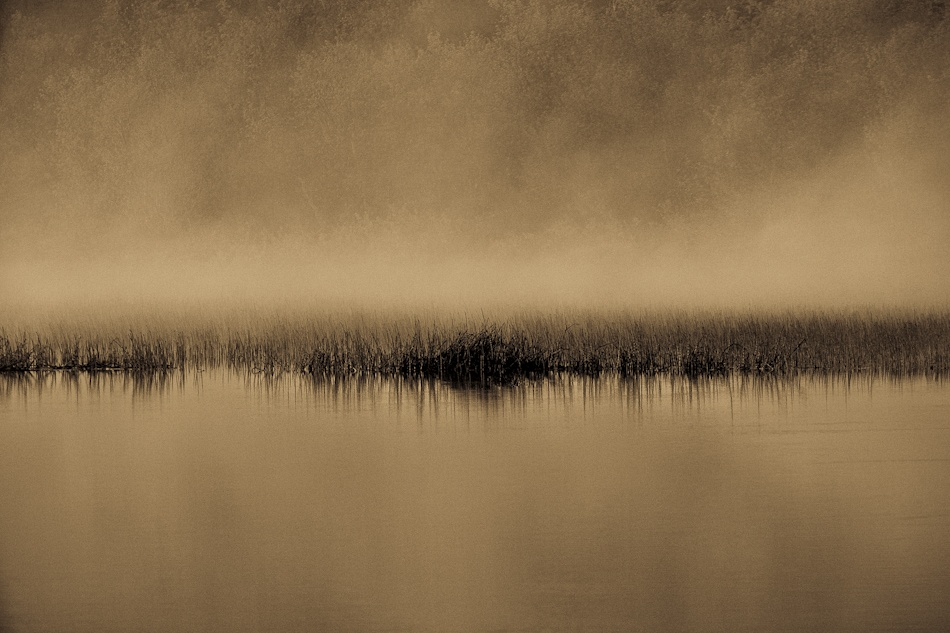 A piece of fine art art photography titled A Silent Place by Oona Torgersen