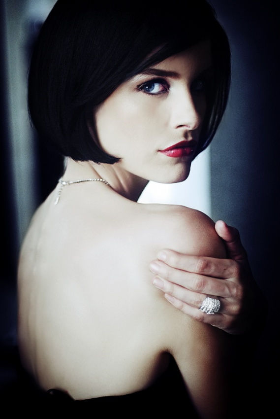 A piece of fine art art photography titled Vesper Lynd by Marina Filipovic