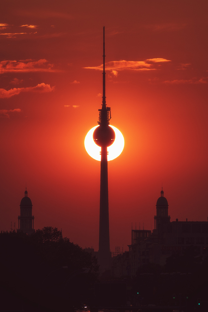 Berlin - Partial Eclipse