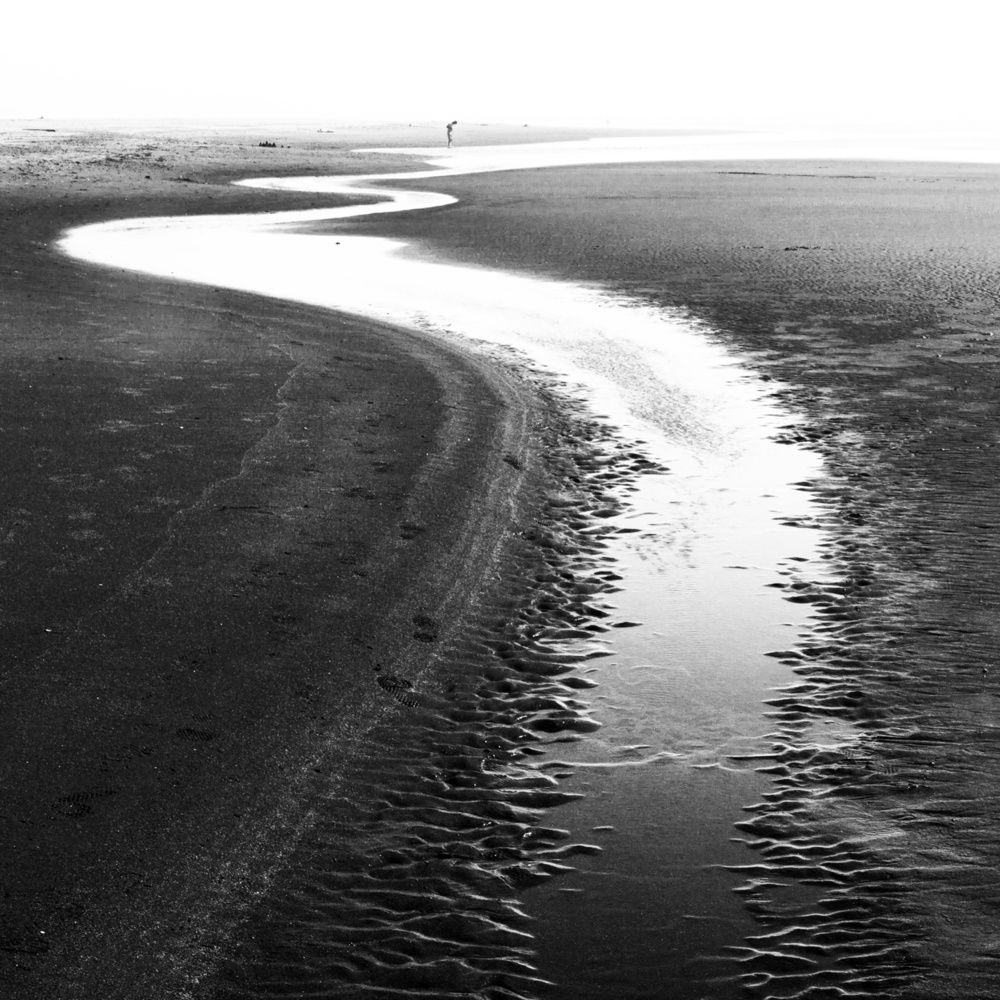 A piece of fine art art photography titled Journey to the Sea by R. TenEyck