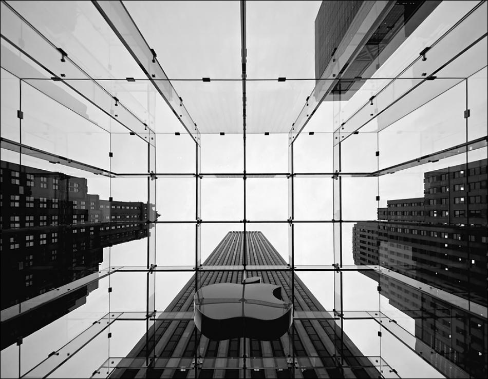 A piece of fine art art photography titled Big Apple by sensorfleck