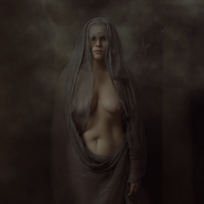 A piece of fine art art photography titled Omega by adalena