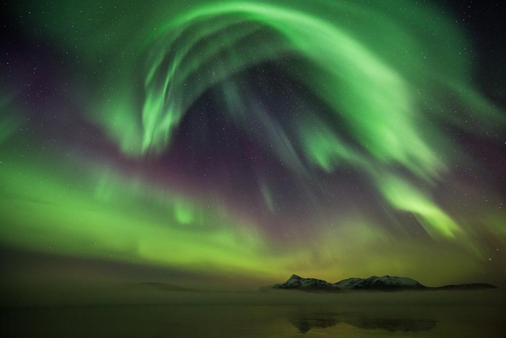 A piece of fine art art photography titled Northern Spirits by Burger Jochen