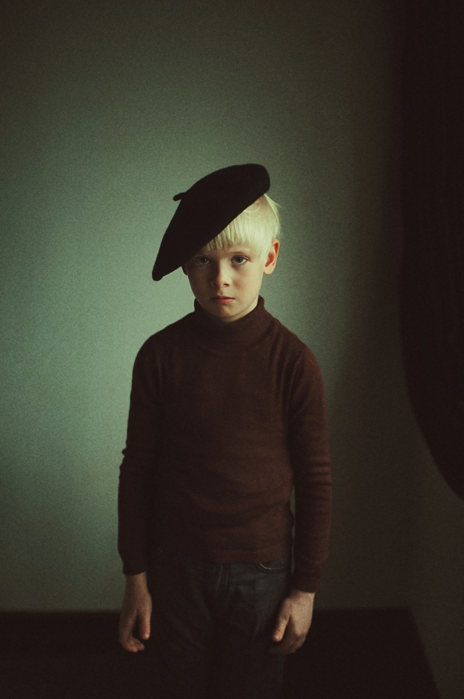 A piece of fine art art photography titled F by Natalia Zhukova
