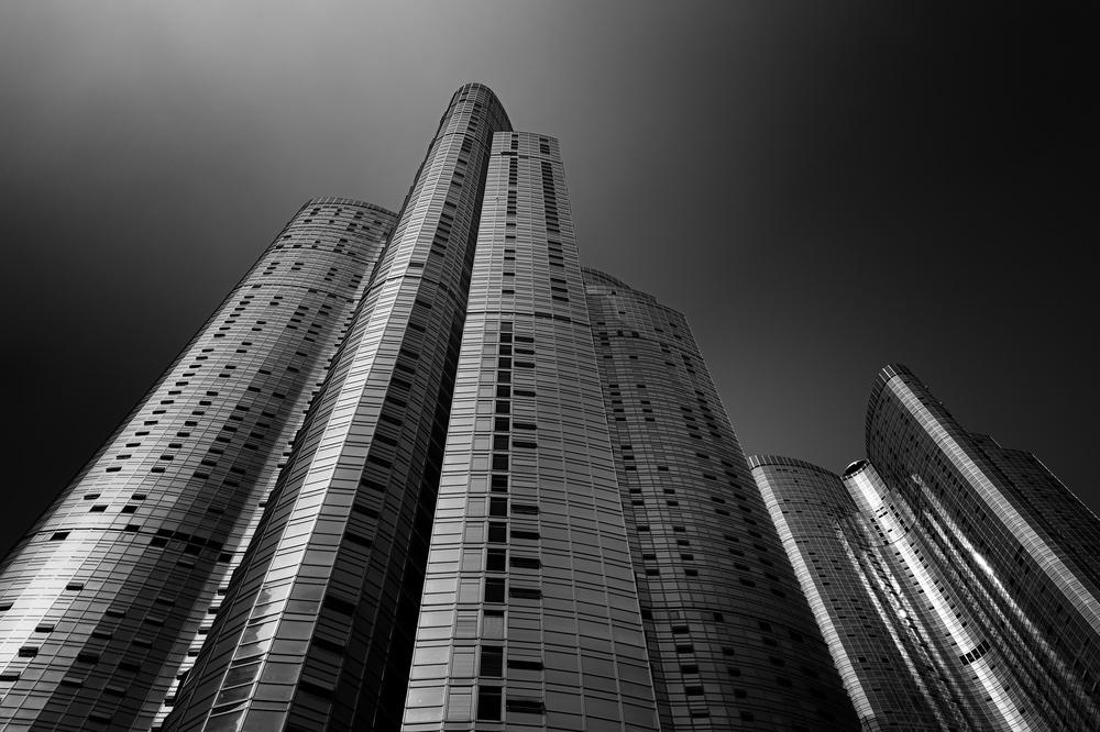 A piece of fine art art photography titled Sky City by Anton Kerezov