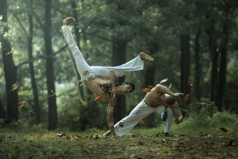 A piece of fine art art photography titled Capoeira by asit