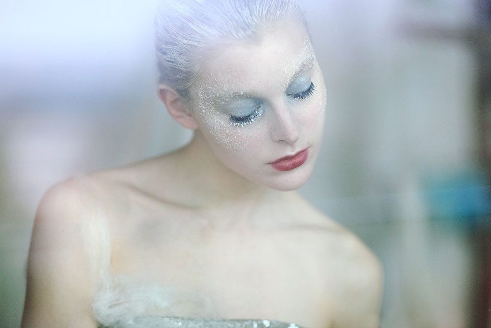 A piece of fine art art photography titled Snowqueen by anna.s.
