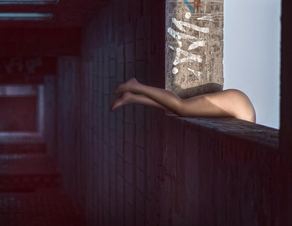 A piece of fine art art photography titled Vertigo by Jose Antonio Roman Andrades