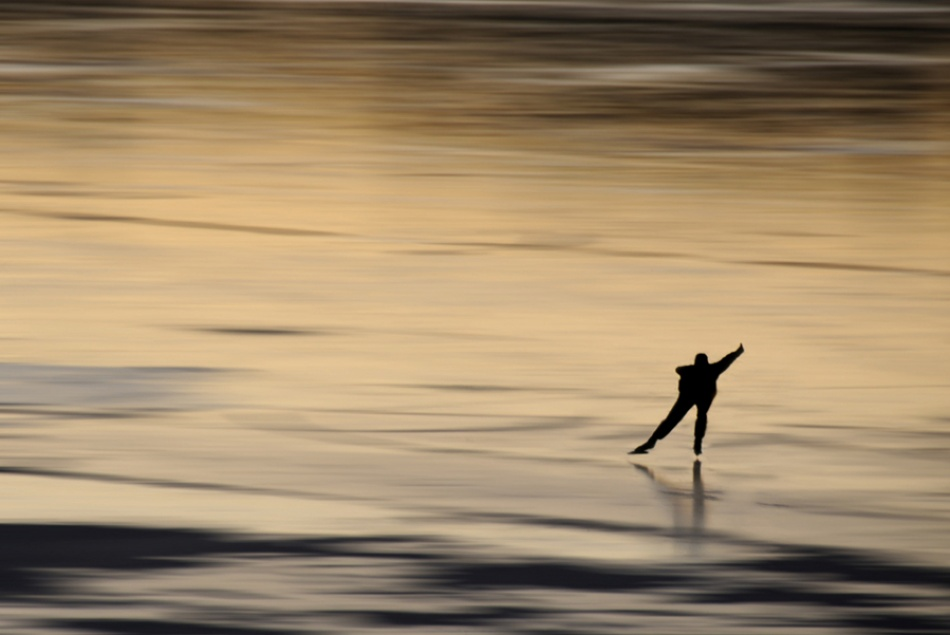 A piece of fine art art photography titled Skater by Jacob Jovelou