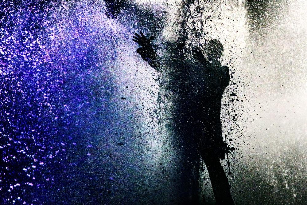 A piece of fine art art photography titled Shattered by Nadav Dov Boretzki