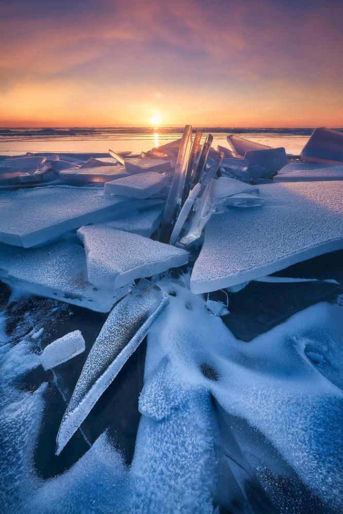Sunrising Baikal