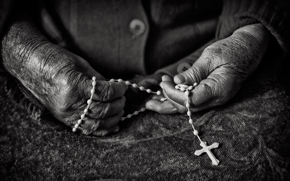 A piece of fine art art photography titled Prayer by Giulio Cedrone