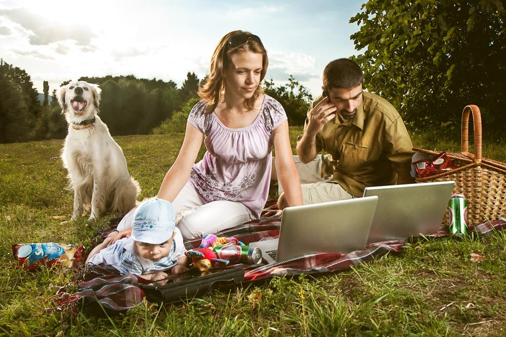 Modern day picnic