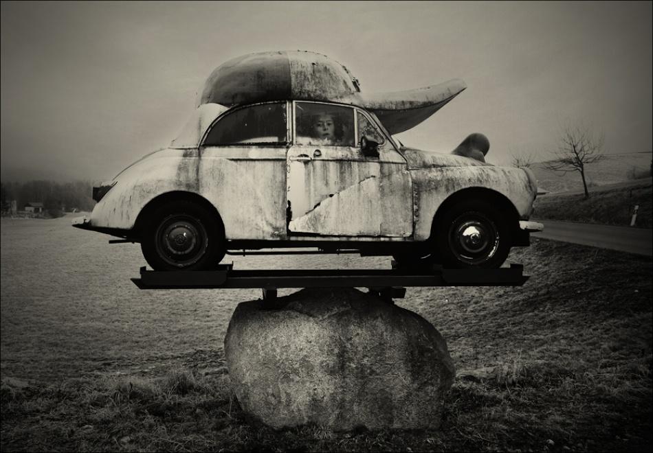 A piece of fine art art photography titled To Panama by Raphael Guarino