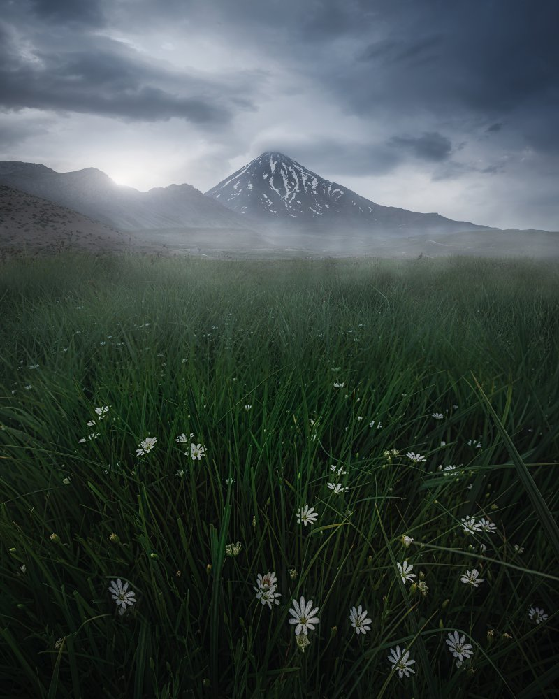 View this piece of fine art photography titled damavand by Larry Deng