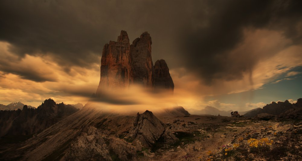 A piece of fine art art photography titled Prophetic Dreams Dolomite by Siarhei Mikhaliuk *