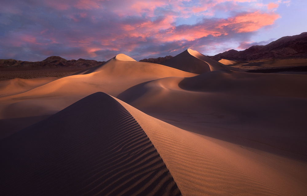 A piece of fine art art photography titled Ibex Dawn by Chad Routhier Photography