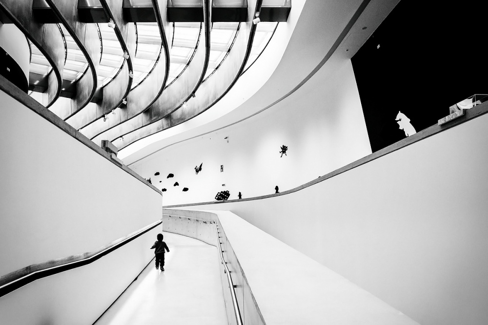 A piece of fine art art photography titled Maxxi by Filippo Nardocci