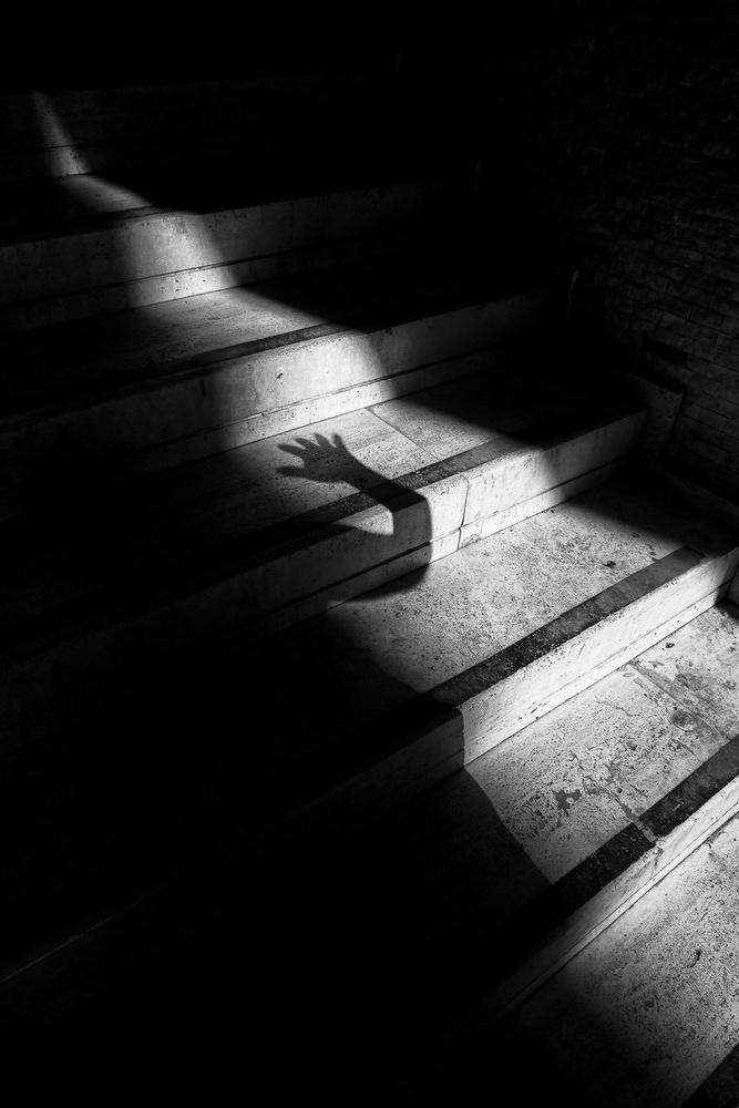 A piece of fine art art photography titled Hand by Ozer Ozmen