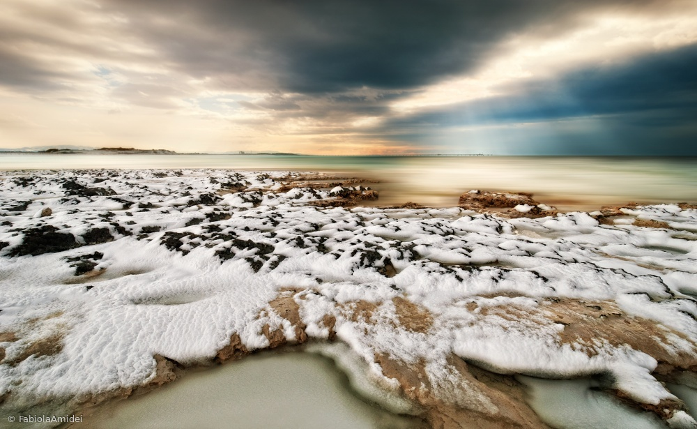 Dreaming of winter sea