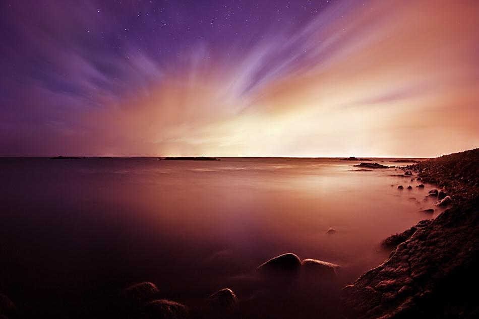 A piece of fine art art photography titled Midnight by Ragnheidur Arngrimsdottir