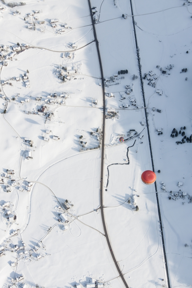 A piece of fine art art photography titled Red Spot by Jean Schmalen